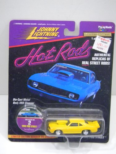Pro Street Collector (Johnny Lightning Hot Rods 1969 Pro Street Camaro Authentic Replicas Of Real Street Rods! Collectors 2 by Playing Mantis)