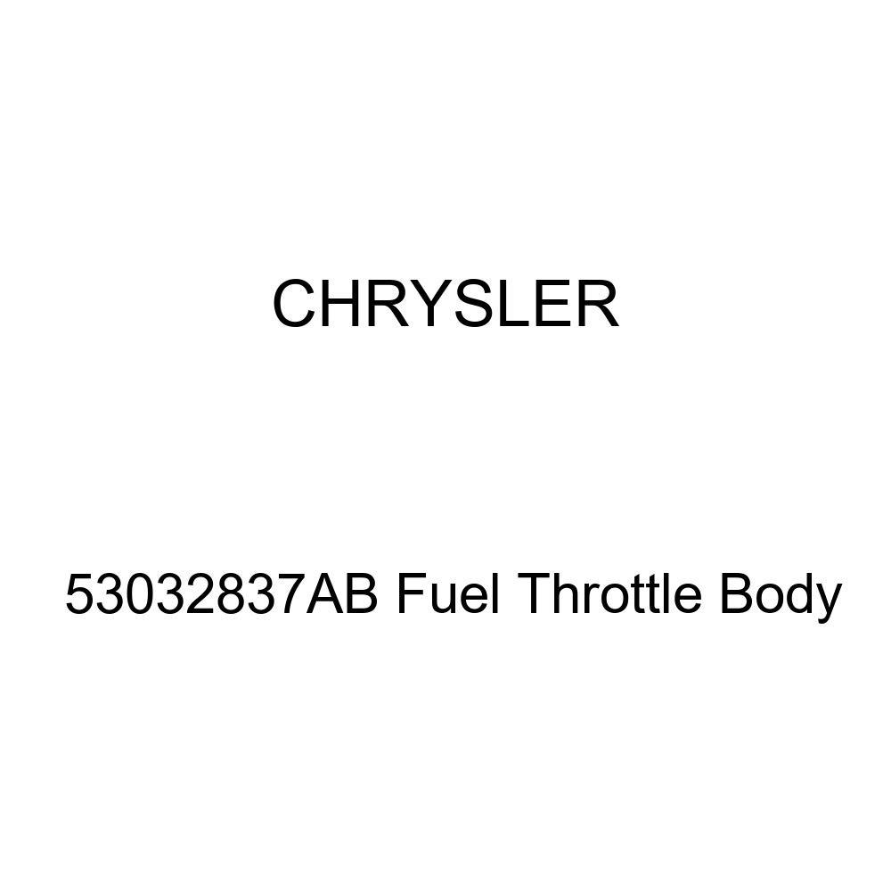 Genuine Chrysler 53032837AB Fuel Throttle Body