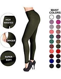 Satina High Waisted Leggings - 22 Colors - Super Soft...