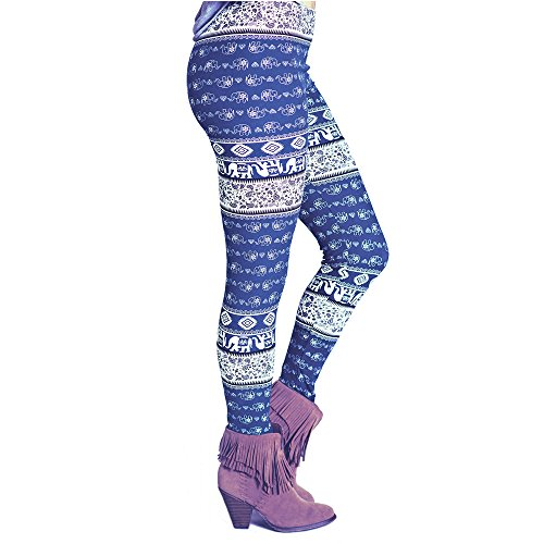 MORCHAN Pantalon Bleu 2 Leggings Combinaisons Skinny imprim Collants Slim Jegging Court Knickerbockers Femmes Lady gomtrique Jeans de Pantalon Casual Stretch SrwSq1B