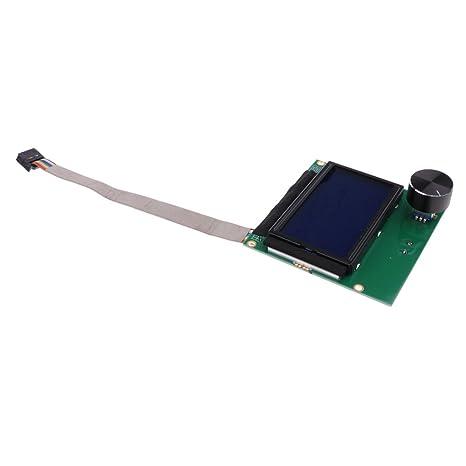 Pantalla LCD 12864 Pantalla Inteligente LCD y Módulo Controlador ...