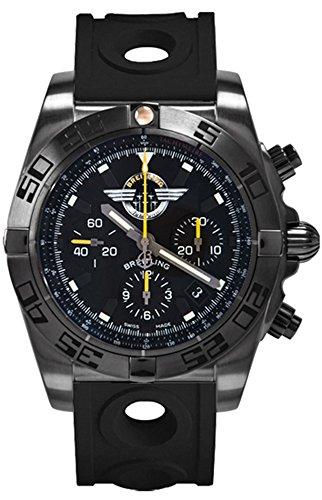 Breitling Chronomat 44 Blacksteel MB01109L/BD48-227S
