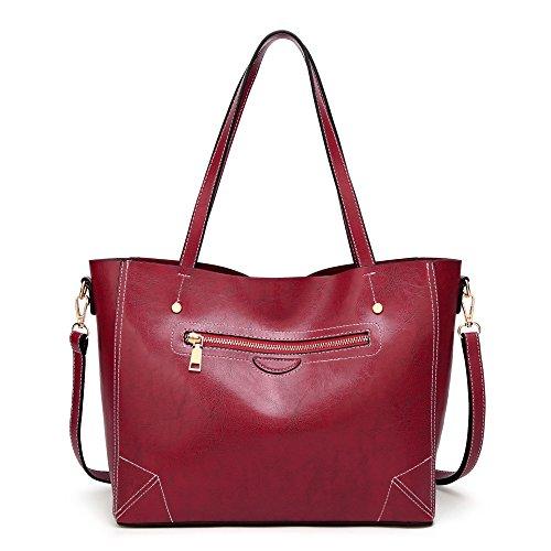 Womens Crossbody Leather Stylish Womens Bag Stylish Messenger Bag Pink Leather Shoulder qgCnxXOw