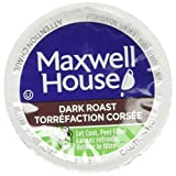 MAXWELL HOUSE Dark Roast Coffee Single Serce Pods, 30 Pods, 292G