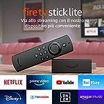 Fire TV Stick Lite con telecomando vocale Alexa   Lite per Streaming in HD