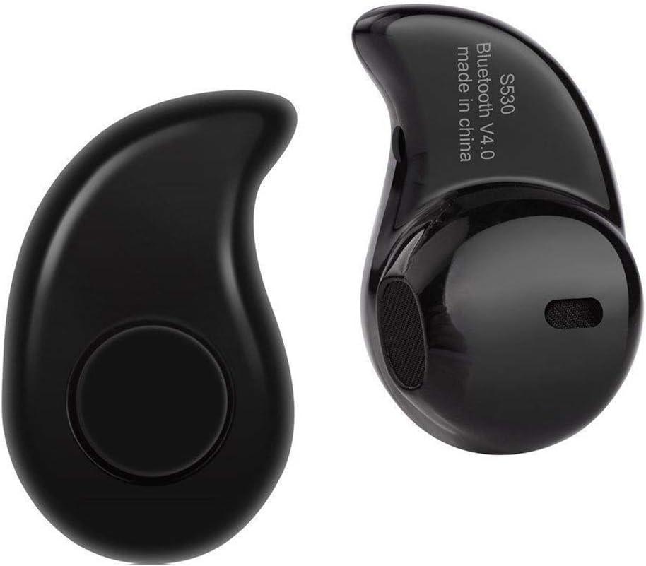 DANDANdianzi S530 Mini Bluetooth 4.1 + EDR Audífonos Auricular Invisible Auriculares inalámbricos Auriculares ergonómicos Deportes audifonos Bluetooth inalambricos audifono Invisible