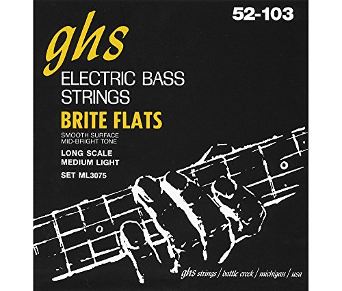 ghs-ml3075-brite-flats-flatwound-electric-bass-strings