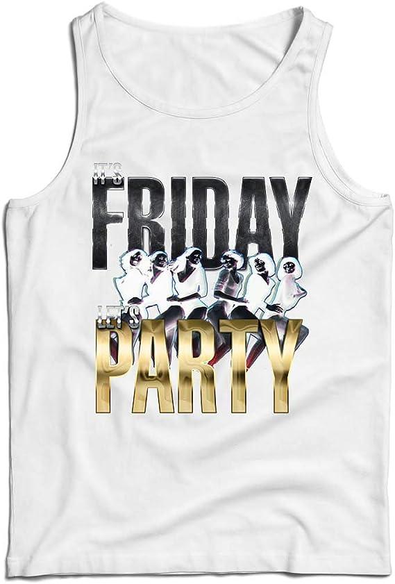lepni.me Camisetas de Tirantes para Hombre Es Viernes ...