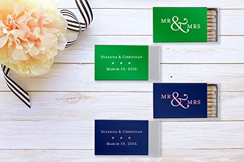 Wedding Custom Matches / Custom Wedding Matches / Personalized Matches / wedding Favors / Candle Box Matches / Cigar Matches Matchbox Favor Custom Matchbox