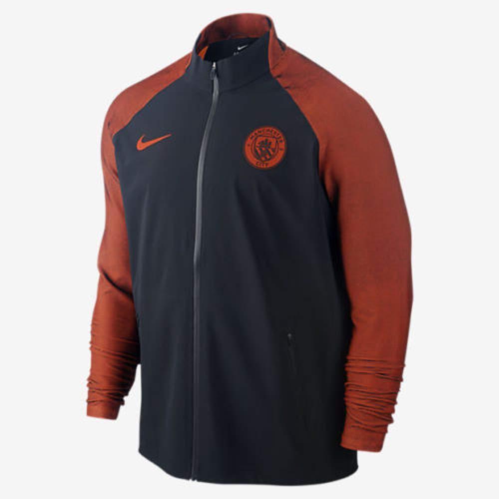 Nike Manchester City F.C. M Strke Trk Jkt W - Jacke Herren, Farbe Schwarz, Größe