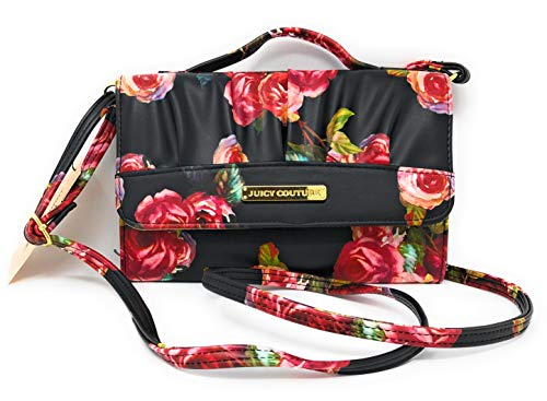 - Juicy Couture Black Rosie HOBO Purse, HandBag | 8X5.5 in
