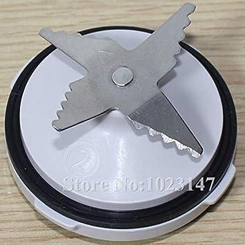 1 unidad de cuchillos con anillo de sellado para Philips HR7627 HR7628 HR7629 HR7761 HR7762 para piezas de licuadora de exprimidor: Amazon.es: Hogar