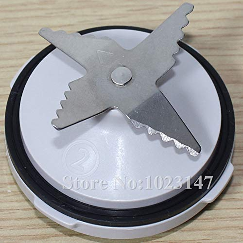 1 unidad de cuchillos con anillo de sellado para Philips HR7627 ...