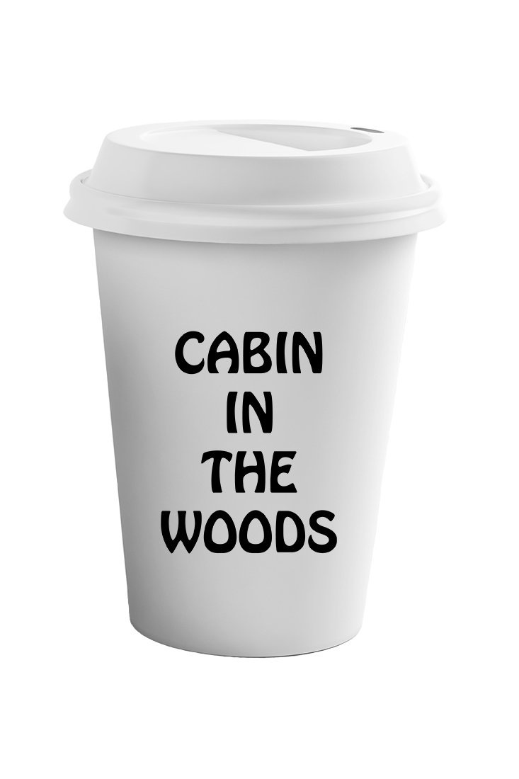Style In Print ''Cabin In The Woods'' Funny Relax Coffee Tea Ceramic Travel Tumbler Mug 11oz