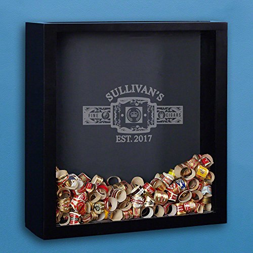 Fine Cigars Engraved Shadow Box (Personalized Product) ()