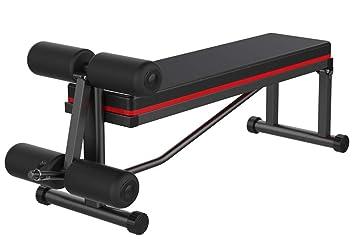 Lcyy-Abs Sit-Up AB Banco con Mancuernas Banco Multifuncional Inicio Plegado Abdominal Músculos