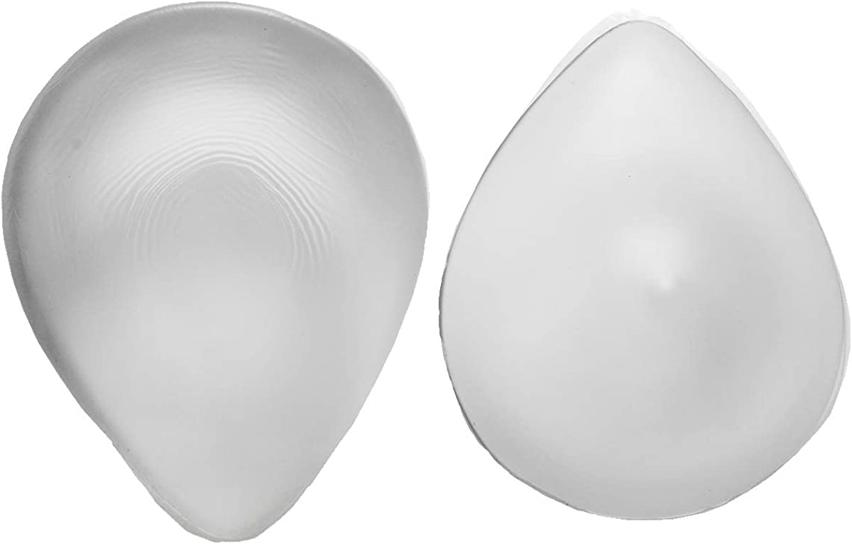 2Pcs Reusable Enhancer Fake Breast Forms Soft Silicone Boobs Mastectomy Bra Pads