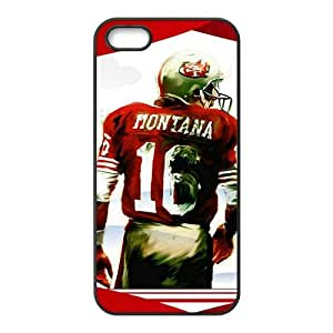 joe montana painting Phone Case for iPhone 5S Case by Maris's Diary