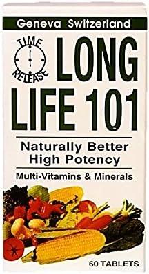 Long Life 101 multi-vitamins 60 tablets