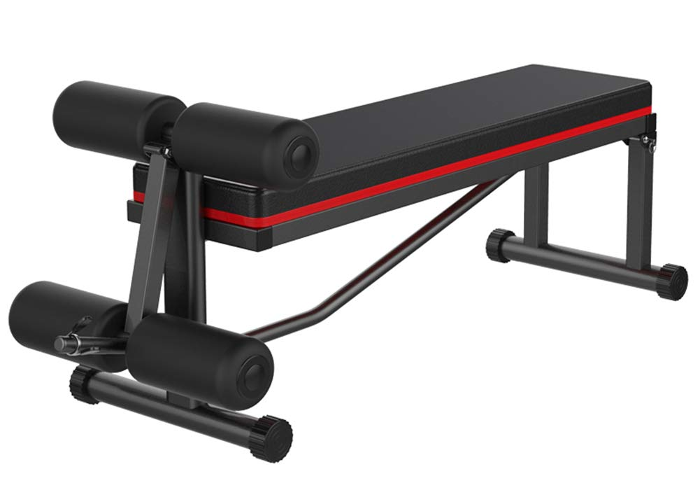Lcyy-Abs Sit-Up Ab Bank Hantelbank Multifunktionale Haus Falten Bauchmuskeln Training Hang Einstellung Unisex