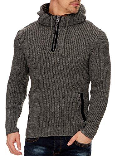 TAZZIO Herren Styler Pullover mit Kapuze 16492