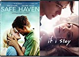 Safe Haven + If I Stay Love Romance Movies DVD Collection