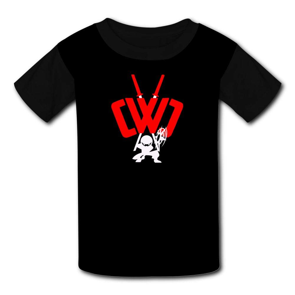 Boys Girls Kids Short Sleeve Summer Tees Tops GCASST Chad Wild Clay Printed Graphic T-Shirt