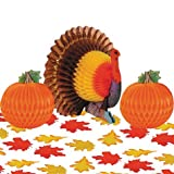 Party America Thanksgiving Table Decorating Kit