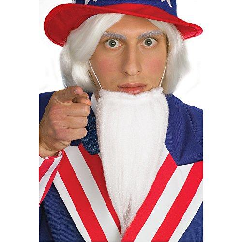 Rubie's Costume Uncle Sam Beard Costume ()