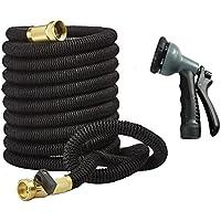 Unilove Garden Hose 50ft Expandable Hose Water Pipe (Black)
