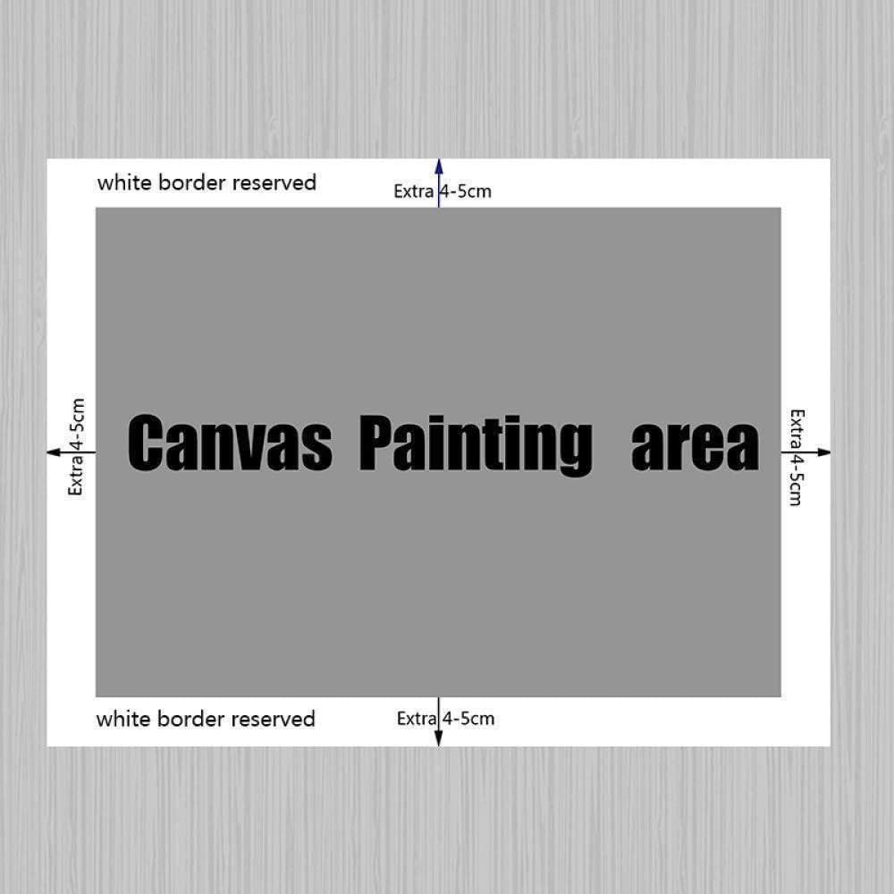 yhyxll Rouge Berserk Japon Dessins Anim/és De Dessins Anim/és Bande Dessin/ée Affiche Et Gravures Mur Art Toile Peinture Mur Photos pour Le Salon Home Decor N 50X75CM