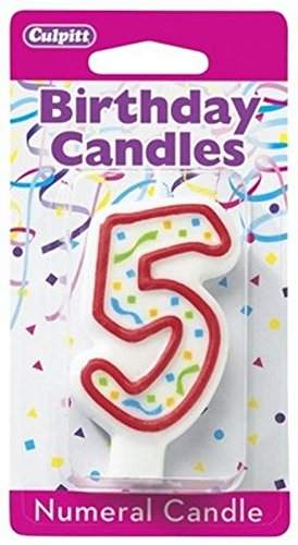 5 Fifth Birthday Party Candle