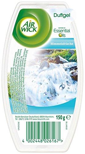 AirWick Duftgel Himmelsfrisch, 6er Pack (6 x 173 ml)