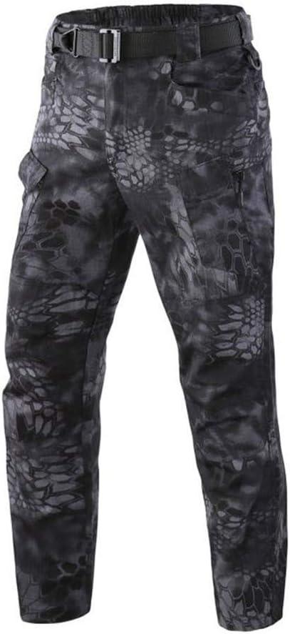 QAZW Ropa táctica Táctico Camisa Ejército Pantalones de Camuflaje para Hombres Pantalones de Color Puro a Cuadros de múltiples Pantalones Pantalones tácticos Transpirables A-XL: Amazon.es: Hogar