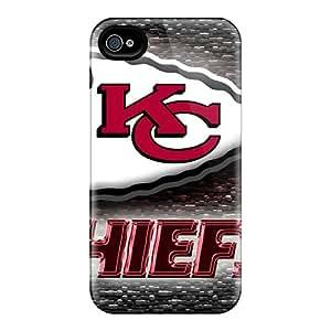 Iphone 4/4s Imc5238RTRU Custom Beautiful Kansas City Chiefs Image Protective Phone Covers -AnnaDubois