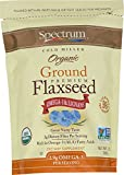 Spectrum Essentials Organic Ground Flaxseed, 14-Ounce Pouch (Pack of 4)