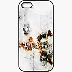 Personalized iPhone 5 5S Cell phone Case/Cover Skin 14692 bulls wp 47 sm Black