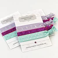 Gymnastics Party Favours or Meet Gifts - Hair Ties (5 Pack)