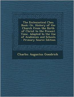 ecclesiastical etymology