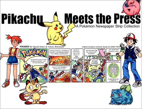 Pikachu Meets the Press: A Pokemon Newspaper Strip