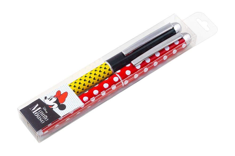 Mehrfahrbig Kuli Schreibset Pen Set Disney Mickey Kugelschreiber Set f/ür Kinder Schule Jungen Einschulung Schulanfang Perfekt Geschenk f/ür M/ädchen