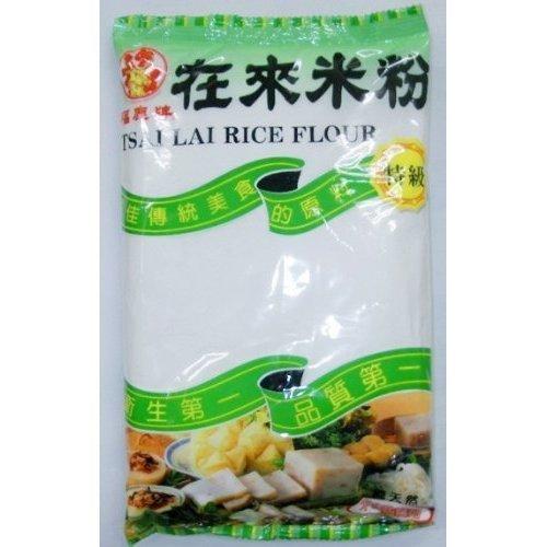 Fukushika tiles pure natural grade tradition Taiwan native rice flour (Intika rice flour) Chinese food seasonings and Taiwan flavor specialty