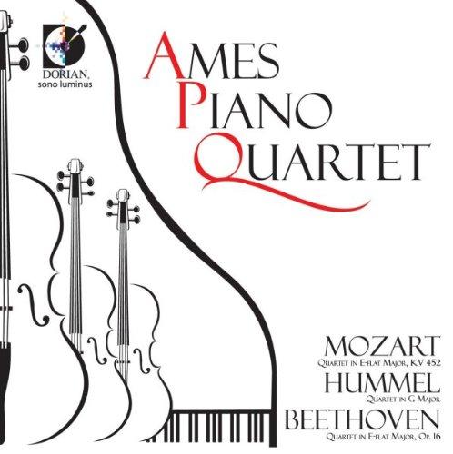 Price comparison product image Ames Piano Quartet Play Mozart Hummel Beethoven