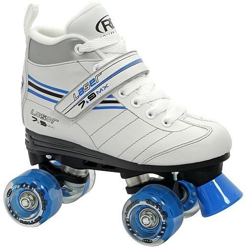 Roller Derby Girl's Laser Speed Quad Skate, Size 06 (Best Roller Skates Brands)