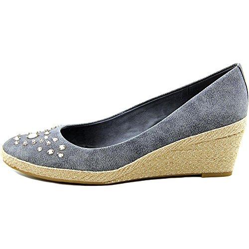Black Casual Easy Womens Almond Kalijo Wedged Spirit Sandals Toe 4qCUwnpq