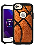 CorpCase iPhone 7 Case / iPhone 8 (4.7) Inch Case - Basketball / Hybrid Unique Case With Great Protection