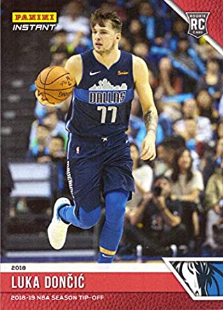 d98fee349415 2018-19 Panini Instant Basketball  10 Luka Doncic Rookie Card Dallas  Mavericks - Only