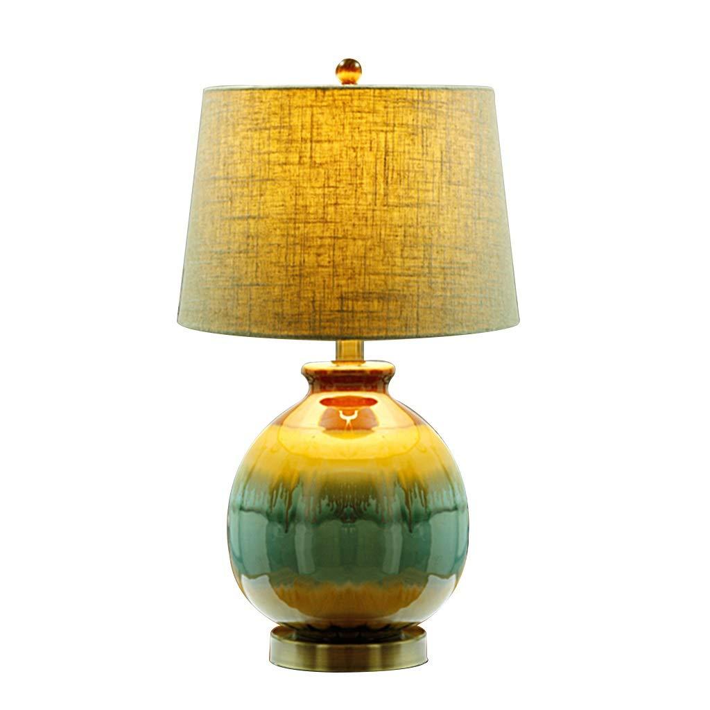 Lámpara de Mesa FJH Nuevo Chino Moderno Minimalista de cerámica ...