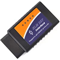 جهاز قراءة وتشخيص مشاكل السيارة ELM327 من نوع او بي دي 2 يعمل بنظام بلوتوث وAndroid، V2.1