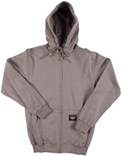 63bc607c79d1 Amazon.com  Rasco FR Men s 100% Cotton Hooded Sweatshirt 11.50 Oz ...